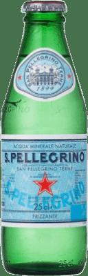 22,95 € Free Shipping | 24 units box Water San Pellegrino Small Bottle 25 cl
