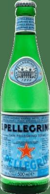 25,95 € Free Shipping | 24 units box Water San Pellegrino Medium Bottle 50 cl