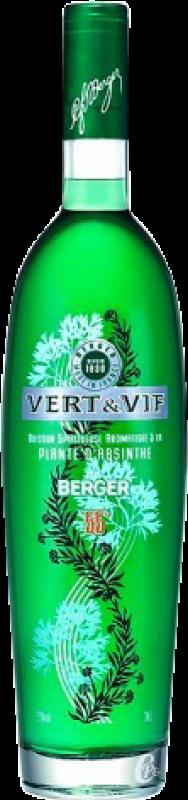 21,95 € Free Shipping | Absinthe Weingut Berger Vert & Vif Bottle 70 cl