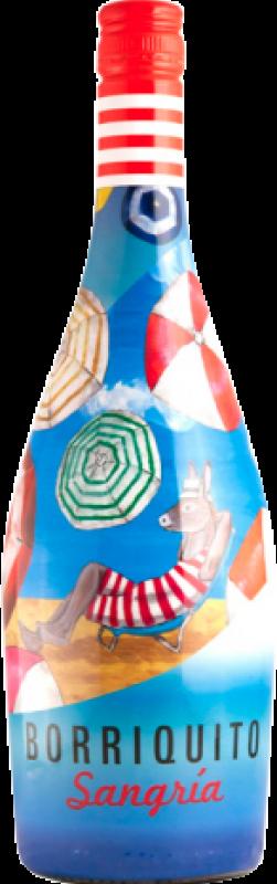4,95 € Free Shipping | Sangaree Murviedro Sangría Borriquito Bottle 75 cl
