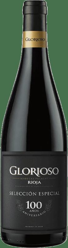 9,95 € Free Shipping | Red wine Palacio Glorioso Selección Centenario D.O.Ca. Rioja The Rioja Spain Tempranillo Bottle 75 cl