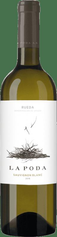 6,95 € Free Shipping | White wine Palacio La Poda D.O. Rueda Castilla y León Sauvignon White Bottle 75 cl