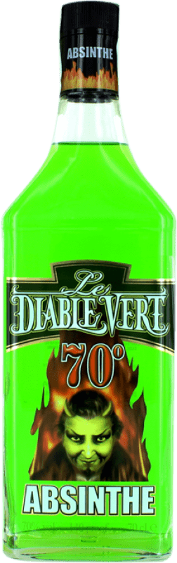 18,95 € Free Shipping | Absinthe Campeny Le Diable Vert Bottle 70 cl