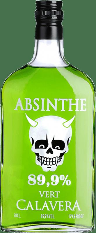 22,95 € Free Shipping | Absinthe La Calavera Verde Bottle 70 cl