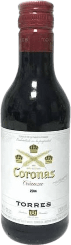 3,95 € Free Shipping | Red wine Torres Coronas D.O. Catalunya Catalonia Spain Bottle 70 cl