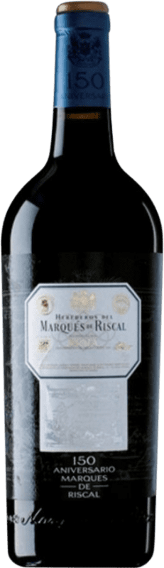 97,95 € Free Shipping | Red wine Marqués de Riscal 150 Aniversario Gran Reserva 2001 D.O.Ca. Rioja The Rioja Spain Tempranillo, Graciano Magnum Bottle 1,5 L