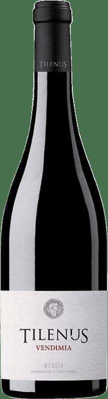 6,95 € Free Shipping | Red wine Estefanía Tilenus Vendimia D.O. Bierzo Castilla y León Spain Mencía Bottle 75 cl