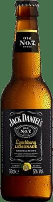 42,95 € Free Shipping | 12 units box Bourbon Jack Daniel's Lynchburg Lemonade Half Bottle 33 cl