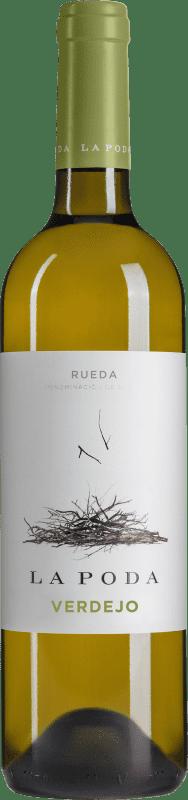 6,95 € Free Shipping | White wine Palacio La Poda D.O. Rueda Castilla y León Verdejo Bottle 75 cl