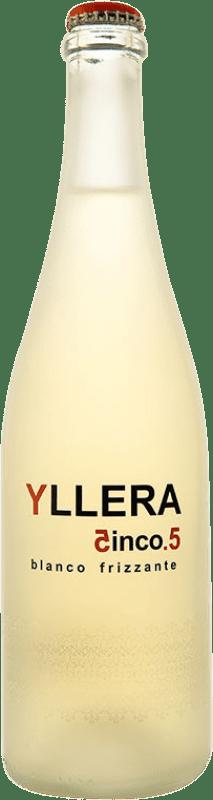 7,95 € Free Shipping | White wine Yllera 5.5 Blanco Frizzante Verdejo Bottle 75 cl