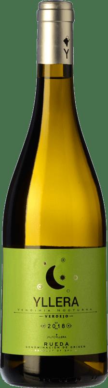 7,95 € Free Shipping | White wine Yllera Blanco D.O. Rueda Castilla y León Verdejo Bottle 75 cl