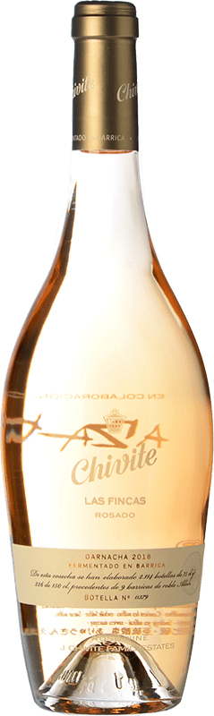 21,95 € Free Shipping   Rosé sparkling Chivite Las Fincas Rosado Fermentación en Barrica Grenache Bottle 75 cl