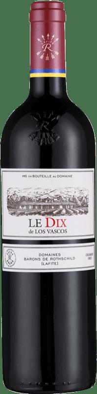49,95 € Free Shipping   Red wine Barons de Rothschild Los Vascos Le DIX I.G. Valle de Colchagua Colchagua Valley Chile Syrah, Cabernet Sauvignon, Carmenère Bottle 75 cl