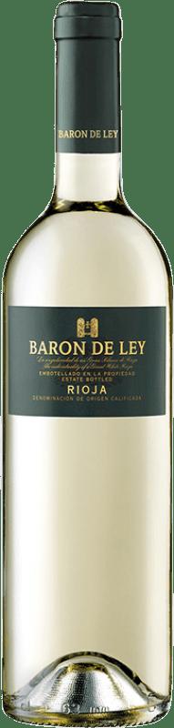 5,95 € Free Shipping | White wine Barón de Ley D.O.Ca. Rioja The Rioja Spain Viura, Malvasía Bottle 75 cl