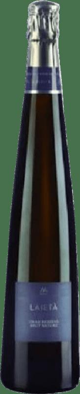 38,95 € Free Shipping | White sparkling Alta Alella Laieta D.O. Cava Spain Macabeo, Xarel·lo, Parellada Magnum Bottle 1,5 L
