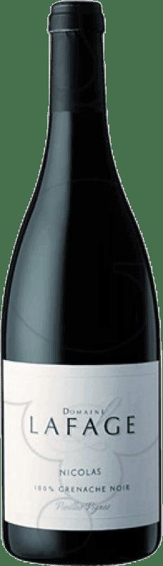 23,95 € Free Shipping | Red wine Domaine Lafage Nicolás Crianza Otras A.O.C. Francia France Grenache Magnum Bottle 1,5 L