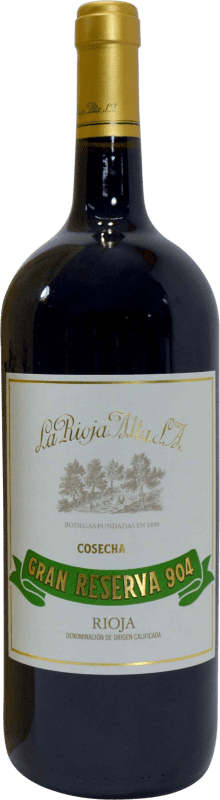 104,95 € | Red wine Rioja Alta 904 Gran Reserva D.O.Ca. Rioja The Rioja Spain Magnum Bottle 1,5 L