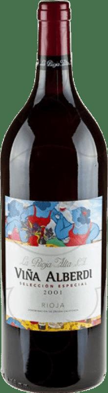 24,95 € | Red wine Rioja Alta Viña Alberdi Crianza D.O.Ca. Rioja The Rioja Spain Magnum Bottle 1,5 L