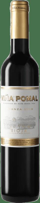5,95 € Free Shipping | Red wine Bodegas Bilbaínas Viña Pomal Centenario Crianza D.O.Ca. Rioja The Rioja Spain Tempranillo Half Bottle 50 cl