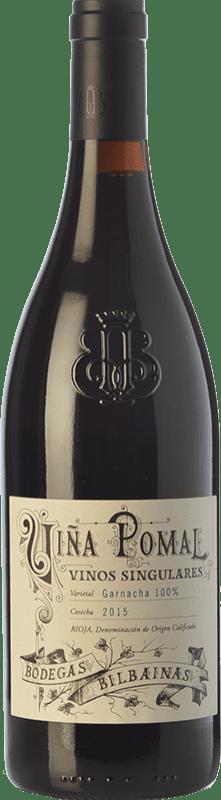 32,95 € 免费送货 | 红酒 Bodegas Bilbaínas Viña Pomal Crianza D.O.Ca. Rioja 拉里奥哈 西班牙 Grenache 瓶子 75 cl