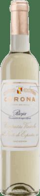 19,95 € Envío gratis | Vino generoso Norte de España - CVNE Corona Semi Seco D.O.Ca. Rioja La Rioja España Macabeo Media Botella 50 cl