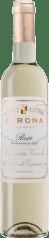 19,95 € Free Shipping   Fortified wine Norte de España - CVNE Corona Semi Dry D.O.Ca. Rioja The Rioja Spain Macabeo Half Bottle 50 cl