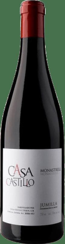 8,95 € 免费送货 | 红酒 Casa Castillo D.O. Jumilla Levante 西班牙 Monastrell 瓶子 75 cl