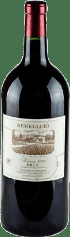 118,95 € Envío gratis | Vino tinto Ntra. Sra de Remelluri Reserva 2009 D.O.Ca. Rioja La Rioja España Tempranillo, Garnacha, Graciano Botella Jéroboam-Doble Mágnum 3 L