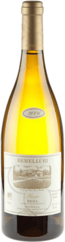 58,95 € Envío gratis | Vino blanco Ntra. Sra de Remelluri Crianza D.O.Ca. Rioja La Rioja España Garnacha Blanca, Roussanne, Moscatel, Viognier, Chardonnay, Sauvignon Blanca, Marsanne Botella 75 cl