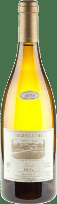 132,95 € Free Shipping | White wine Ntra. Sra de Remelluri Crianza D.O.Ca. Rioja The Rioja Spain Grenache White, Roussanne, Muscat, Viognier, Chardonnay, Sauvignon White, Marsanne Magnum Bottle 1,5 L