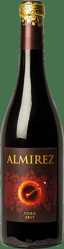 16,95 € Envoi gratuit | Vin rouge Teso La Monja Almirez Crianza D.O. Toro Castille et Leon Espagne Tempranillo Bouteille 75 cl