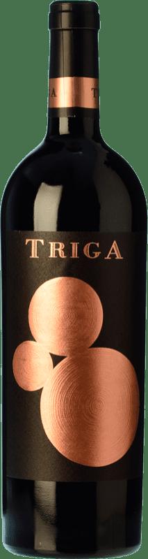 31,95 € Envío gratis | Vino tinto Volver Triga Crianza D.O. Alicante Levante España Monastrell Botella 75 cl