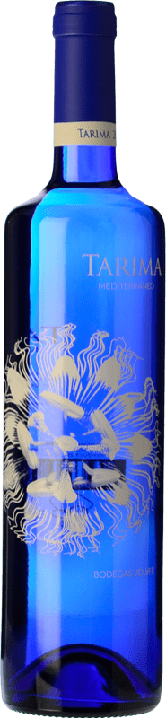 6,95 € Envoi gratuit | Vin blanc Volver Tarima Mediterráneo Joven D.O. Alicante Levante Espagne Muscat, Merseguera Bouteille 75 cl