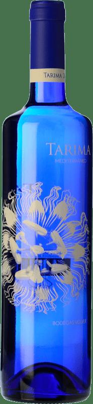 6,95 € Envío gratis | Vino blanco Volver Tarima Mediterráneo Joven D.O. Alicante Levante España Moscatel, Merseguera Botella 75 cl
