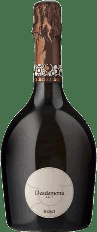 8,95 € Free Shipping | White sparkling Ceci Desdemona Brut Joven Otras D.O.C. Italia Italy Pinot White Bottle 75 cl