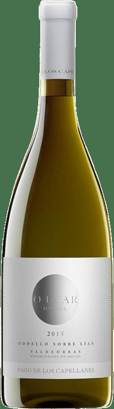 17,95 € Envoi gratuit | Vin blanc Pago de los Capellanes O Luar do Sil Sobre Lías Crianza D.O. Valdeorras Galice Espagne Godello Bouteille 75 cl
