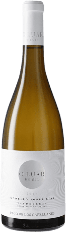 16,95 € | White wine Pago de los Capellanes O Luar do Sil Sobre Lías Crianza D.O. Valdeorras Galicia Spain Godello Bottle 75 cl