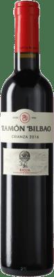 7,95 € Envío gratis | Vino tinto Ramón Bilbao Crianza D.O.Ca. Rioja La Rioja España Tempranillo Media Botella 50 cl