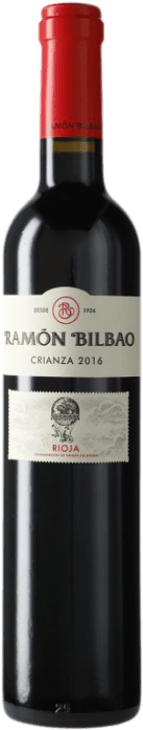 7,95 € Free Shipping | Red wine Ramón Bilbao Crianza D.O.Ca. Rioja The Rioja Spain Tempranillo Half Bottle 50 cl