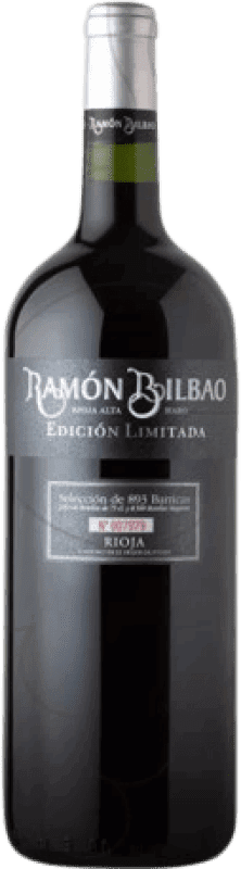 23,95 € | Red wine Ramón Bilbao Edicion Limitada Crianza D.O.Ca. Rioja The Rioja Spain Tempranillo Magnum Bottle 1,5 L