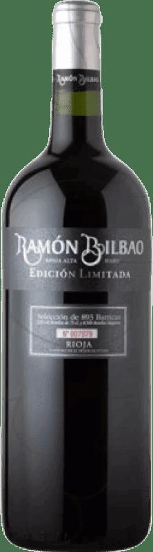 23,95 € Envío gratis | Vino tinto Ramón Bilbao Edicion Limitada Crianza D.O.Ca. Rioja La Rioja España Tempranillo Botella Mágnum 1,5 L