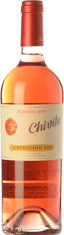 23,95 € 免费送货 | 玫瑰酒 Chivite Colección 125 Joven D.O. Navarra 纳瓦拉 西班牙 Tempranillo, Grenache 瓶子 75 cl