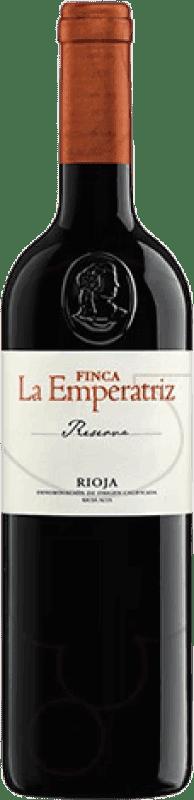 15,95 € 免费送货 | 红酒 Hernáiz Finca La Emperatriz Reserva D.O.Ca. Rioja 拉里奥哈 西班牙 Tempranillo, Grenache, Macabeo 瓶子 75 cl