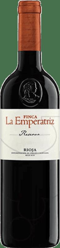 82,95 € Envío gratis | Vino tinto Hernáiz Finca La Emperatriz Reserva D.O.Ca. Rioja La Rioja España Tempranillo, Garnacha, Macabeo Botella Jéroboam-Doble Mágnum 3 L