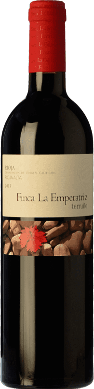 23,95 € Envío gratis | Vino tinto Hernáiz Finca La Emperatriz Terruño D.O.Ca. Rioja La Rioja España Tempranillo Botella 75 cl