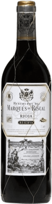 35,95 € Free Shipping | Red wine Marqués de Riscal Reserva D.O.Ca. Rioja The Rioja Spain Tempranillo, Graciano, Mazuelo, Carignan Magnum Bottle 1,5 L
