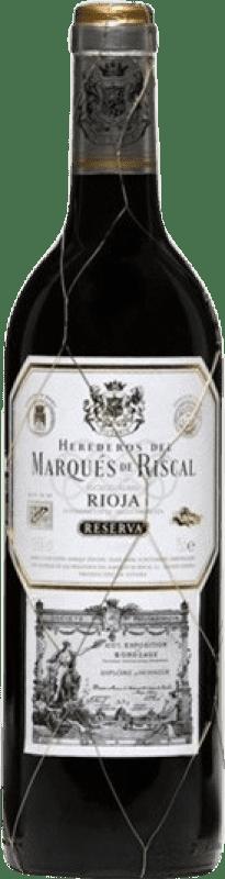 35,95 € Envoi gratuit   Vin rouge Marqués de Riscal Reserva D.O.Ca. Rioja La Rioja Espagne Tempranillo, Graciano, Mazuelo, Carignan Bouteille Magnum 1,5 L