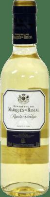 5,95 € Free Shipping | White wine Marqués de Riscal Joven D.O. Rueda Castilla y León Spain Verdejo Half Bottle 37 cl