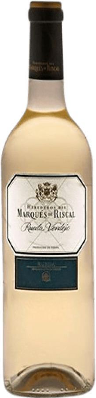 18,95 € | Vin blanc Marqués de Riscal Joven D.O. Rueda Castille et Leon Espagne Verdejo Bouteille Magnum 1,5 L