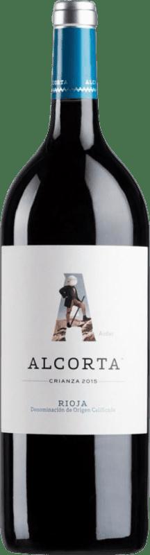 11,95 € | Red wine Campo Viejo Alcorta Crianza D.O.Ca. Rioja The Rioja Spain Tempranillo Magnum Bottle 1,5 L